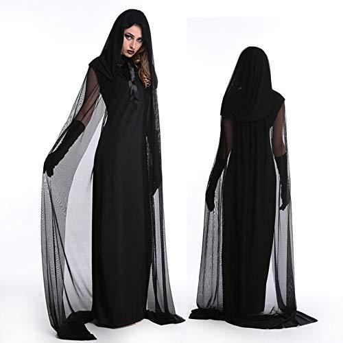 Mengjie Holloween Costume Cos Sexy Witch Devil Vampire