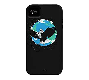 The Eagle has landed iPhone 4/4s Black Tough Phone Case - Design By Humans