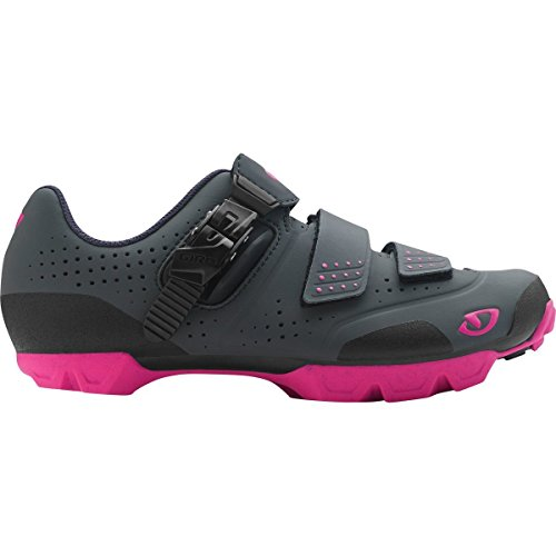 Giro Manta R Cycling Shoes - Women's Dark Shadow/Bright Pink 40.5