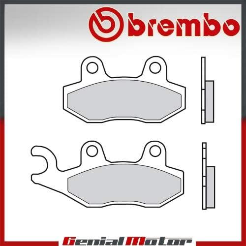 07SU12.15 Rear Brembo 15 Brake Pads for Triumph BONNEVILLE T100 900 2009  2016