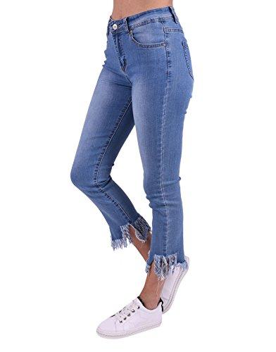 Jeans Miss Jean Femme dchir Coquines Bleu TqfwP6