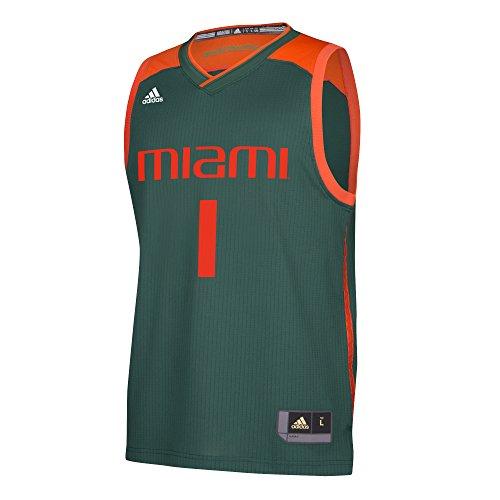 NCAA Miami Hurricanes Replica Jersey, Medium, Green