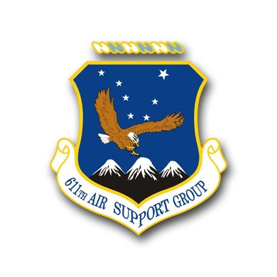 Us air force 611th air support group decal sticker 3 8