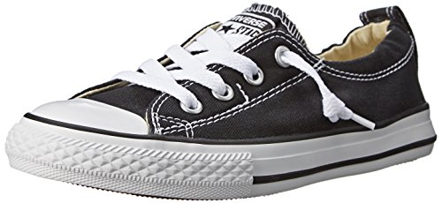 Converse Girls' Chuck Taylor All Star Shoreline Sneaker, Black, 2.5 M US Little Kid
