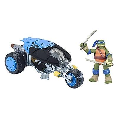 Teenage Mutant Ninja Turtles Leonardo With Stealth Bike Vehicle With Figure