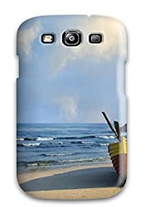 Anti-scratch And Shatterproof Rainbow Phone Case For Galaxy S3/ High Quality Tpu Case