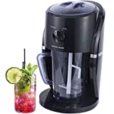 Charles Jacobs Electric Ice Crusher Machine - Great for Cocktails, Slushies and Iced Coffees (Black)