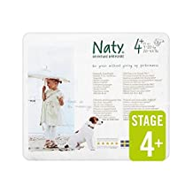 Naty Size 4+ Carry 25 per pack - Pack of 4