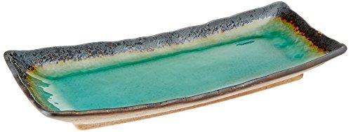 (Happy Sales HSTG-LGPL, Large Japanese Turquoise Green Kosui Plate)