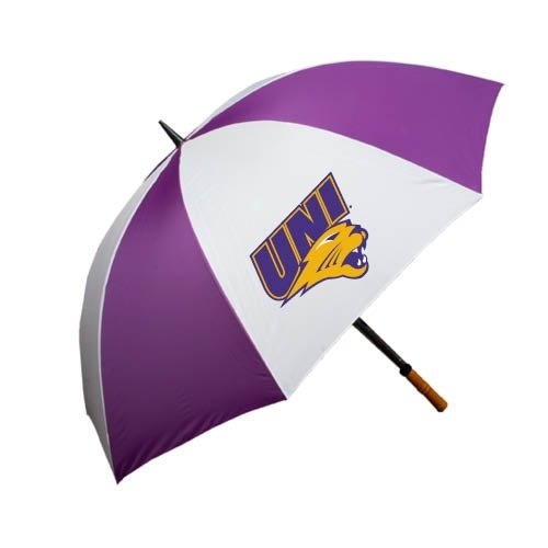 Northern Iowa 64 Inch Purple/White Umbrella 'UNI Official Logo' by CollegeFanGear