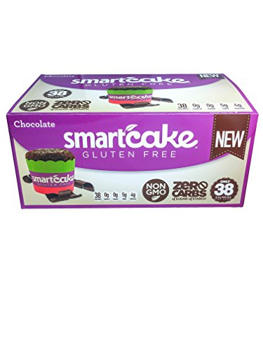 (CHOCOLATE SMARTCAKE: Gluten Free, Sugar Free and Starch Free (8 x 2-packs))