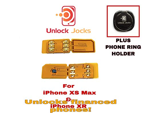 Prototype 28 Unlock Jock's All Carriers Network Card unlocker for iPhone XR Special Fit Sim Card Supports Newest iOS Straight Talk Sprint T-Mobile Verizon AT&T Telcel get 4G LTE XS XS Max XR X 8 + ()