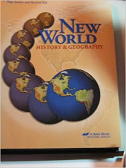 New world history and geography 6 map studies and reviews key new world history and geography 6 map studies and reviews key teachers edition beka book amazon books gumiabroncs Images