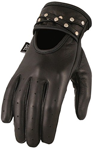 Womens Leather Riding Gloves - 7