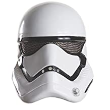 Star Wars Episode VII: The Force Awakens Child's Stormtrooper Half Helmet