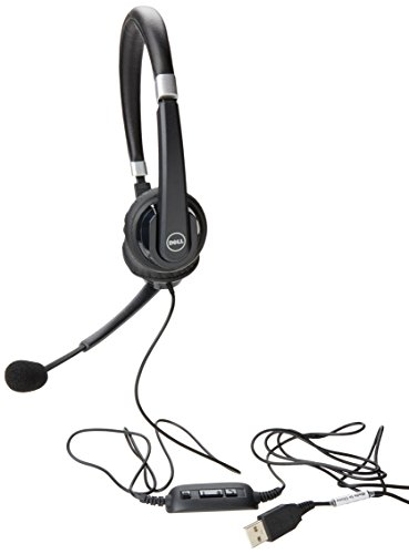 Dell Pro Stereo Headset UC300 - Stereo - Black - USB - Wired