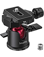 """SmallRig Mini Ball Head, Tripod Head Camera 360° Panoramic with 1/4"""" Screw 3/8"""" Thread Mount and Arca-Type QR Plate Metal Ball Joint for Monopod, DSLR, Phone, Gopro, Max Load 4.4lbs/2kg - BUT2665"""