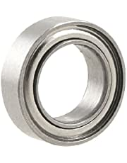 uxcell 10mm x 6mm x 3mm Metal Sealed Deep Groove Roller Bearings