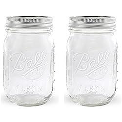 Ball Pint Jar, Regular Mouth, Set of 2