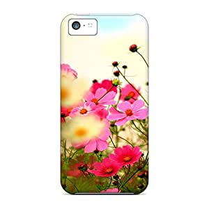 KRD33533jYCO Phone Cases With Fashionable Look For Iphone 5c - Pink Blossoms