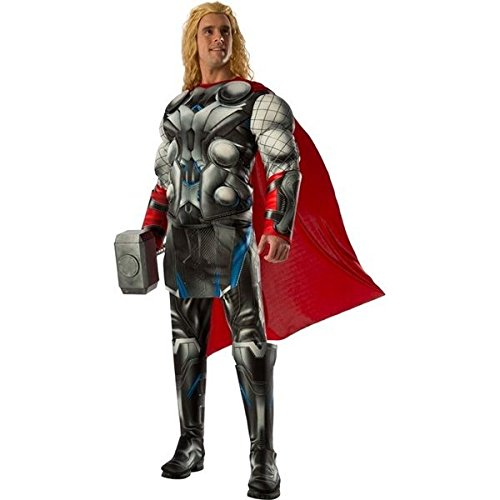 (Rubie's Men's Avengers 2 Age Of Ultron Deluxe Adult Thor Costume, Multi,)