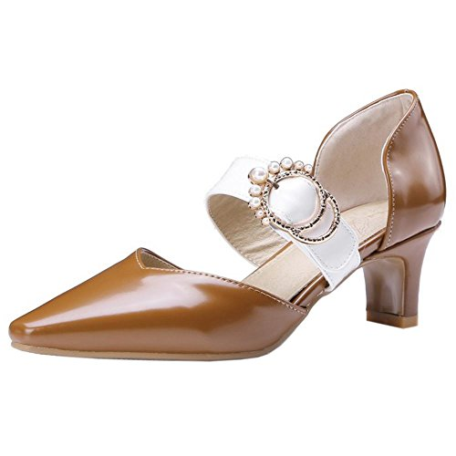 D Mode Lit Zanpa Big Brown Femmes Tailles Orsay Chaussures 8n0OXkwP