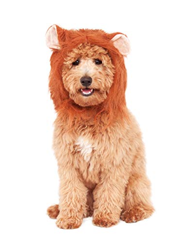 Rubie's Lion's Mane Costume Accessory for Pets, Small/Medium