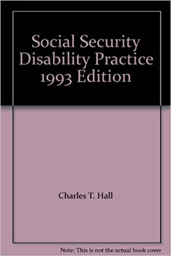 Social Security Disability Practice 1993 Edition