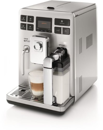 Saeco HD8856/47 Exprelia Automatic Espresso Machine, Stainless Steel