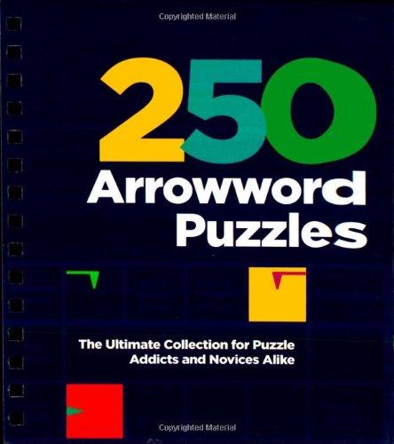 250 arrowword puzzles parragon 9781445497884 amazoncom books