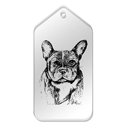 Grande X De Dogo tg00078002 Azeeda 'cabeza Etiquetas 10 Francés' Claras Del 51 Mm 99 5ETTSqz