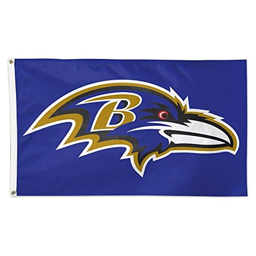 WinCraft NFL Baltimore Ravens Deluxe Flag, 3