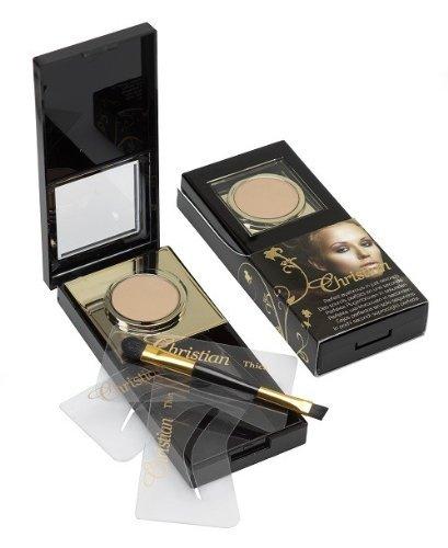 Christian Cosmetics Eyebrow Powder Set Colour Light by Christian Eyebrow by Christian Eyebrow