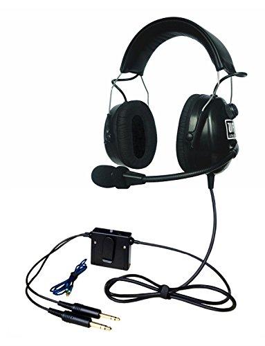 Bose Anr Headset (UFQ A48 Top Sky Studio ANR aviation headset light weight headset great ANR aviation headset clear communication pilot headset and Mp3 Input bose grade Hi-Fi sound for music free with pilot headset bag)