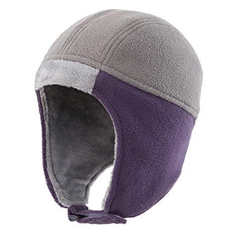 f681cc6b801 Home Prefer Kids Winter Hat Toddler Boys Girls Fleece Earflap Hat Snow Ski  Hat