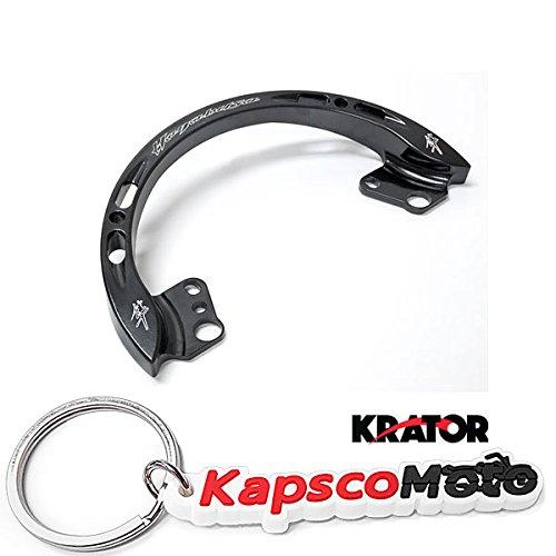 Passenger Rail Grab (Krator Black Passenger Grab Bar Rail Suzuki GSXR 1300 Hayabusa 1999-2007 Handle Rail 1999 2000 2001 2002 2003 2004 2005 2006 2007 + KapscoMoto Keychain)