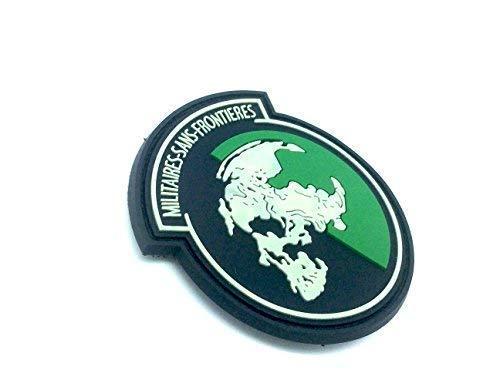 Military sans Frontieres Brillent dans Le Noir Metal Gear Solid PVC Airsoft Patch