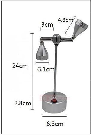 WINZSC Akku Licht LED Spot Beleuchtung R/ückwand Vitrinen Shop Schlafzimmer Studie Super Bright Lights 2/Heads-za sd76/leicht zu entfernen Warm Light