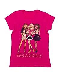 Barbie - Girls Short Sleeve T-Shirt, Smokin Hot Pink