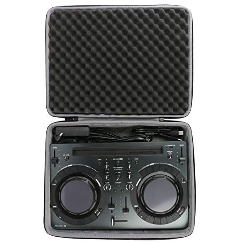 co2crea Hard Travel Case for Pioneer Pro DJ DDJ-WeGO4 / DDJ-WEGO3 Compact DJ 4/Dual Deck Controller