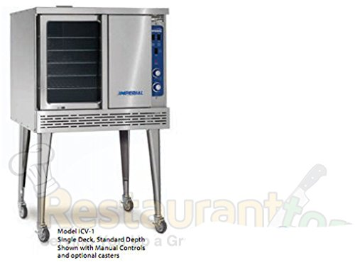 Imperial Commercial Convection Oven Single Deck Standard Depth Natural Gas Model Icv-1 1 Available Single Deck