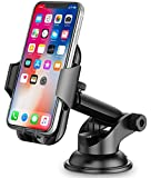 Car Phone Holder, TEUMI Phone Mount for Car Dashboard / Windshield, 360° Rotatable