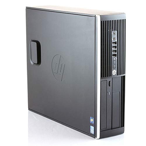 HP Elite 8300 - Ordenador de sobremesa (Intel Core i7-3770, 8GB de RAM, Disco SSD 240GB + 500GB HDD, Lector DVD, Windows 10 Pro ES 64) - Negro (Reacondicionado)