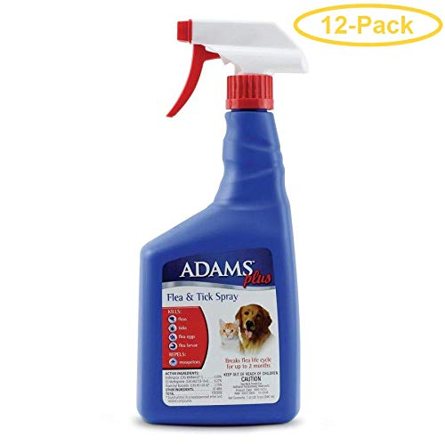 Adams Flea & Tick Spray Plus Precor 32 oz - Pack of 12