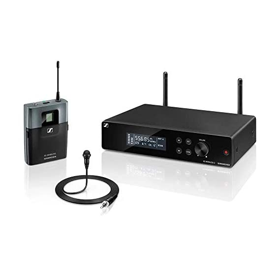 SennheiserXSW 2-ME2-A Wireless 2 Lavalier Omni-directional Microphone System. Ideal for public speakers, presenters