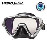 TUSA M-110 Visio Uno Pro Scuba Diving Mask, Chrome