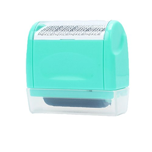 ilypro-mini-secure-stamper-privacy-protection-seal-roller-for-personal-use-34cm-garble-green