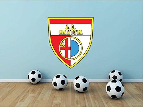 Mantova FC Italy Soccer Football Sport Art Wall Decor Sticker 25'' X 22'' by postteam