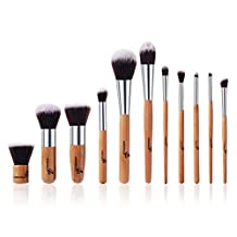 11PCS Pro Makeup Brush Brushes Cosmetic Powder Tool Kit Set With Bag MT52