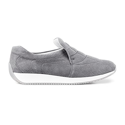 Flats 25 Loafer 44029 ara Women's Grey 12 UZwqBXnH